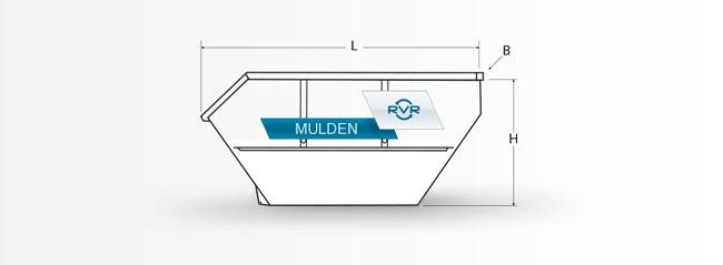 Muldenvermietung Regensburg // Offene Mulde